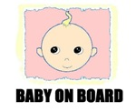BABY ON BOARD (NO ARROWS)