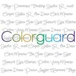 Colorguard Script