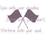 Spin, Dance, Perform, Colorguard