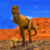 T-Rex in the Desert by Marc Brinkerhoff
