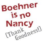 Boehner is No Nancy