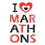 I heart (love) Marathons