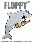 Floppy The Drunk Anti-Masturbation Dolphin