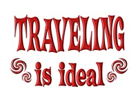 <b>TRAVELING IS IDEAL</b>