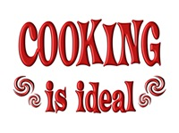 <b>COOKING IS IDEAL</b>