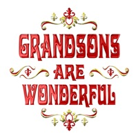 <b>GRANDSONS ARE WONDERFUL</b>