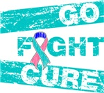 Thyroid Cancer Go Fight Cure Shirts