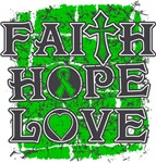 Cerebral Palsy Faith Hope Love Shirts