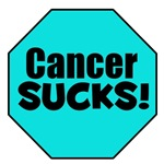 Cancer Sucks Ovarian Cancer T-Shirts & Gifts