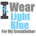 I Wear Light Blue For My Grandfather T-Shirts
