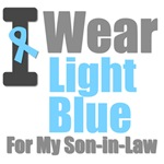 I Wear Light Blue For My Son-in-Law T-Shirts