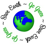 Save Earth Go Green Environment T-Shirts & Gifts