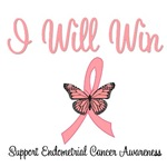 I Will Win Endometrial Cancer T-Shirts