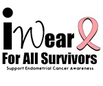 Endometrial Cancer (Survivors) T-Shirts