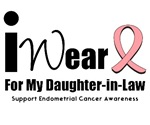Endometrial Cancer (Daughter-in-Law) T-Shirts