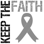 Keep The Faith Brain Cancer T-Shirts 