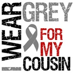 I Wear Grey (Cousin) Brain Cancer Shirts