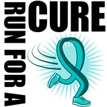 Run For A Cure Ovarian Cancer Shirts