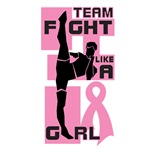 Team Fight Like A Girl Breast Cancer Shirts
