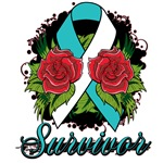 Cervical Cancer Rose Tattoo