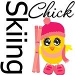 Skiing Chick