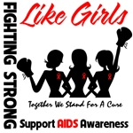 AIDS Girls Fighting Strong