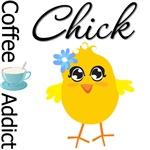 Coffee Addict Chick
