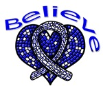 ALS Believe Heart Ribbon