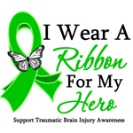 TBI I Wear A Ribbon Hero