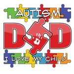 Autism Dad Shirts & Gifts