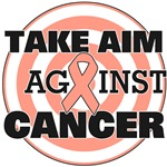 Take Aim Against Uterine Cancer Shirts & Gifts