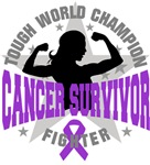 Pancreatic Cancer Tough Survivor Shirts