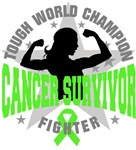 Lymphoma Cancer Tough Survivor Shirts