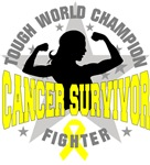 Bladder Cancer Tough Survivor Shirts 