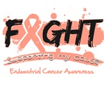 Fight Endometrial Cancer Cause Shirts