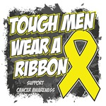 Sarcoma Tough Men Wear A Ribbon Shirts