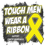 Bladder Cancer Tough Men Wear A Ribbon Shirts