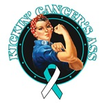 Kickin' Cervical Cancer's Ass Shirts