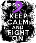 Cystic Fibrosis Keep Calm Fight On Shirts