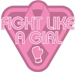 Breast Cancer Fight Like A Girl Glove Shirts