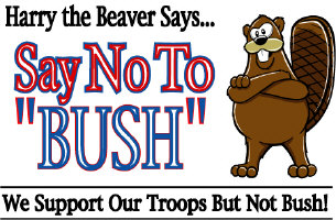 Harry Says.. NO BUSH!