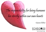 Responsibility for Being Humane