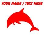 Custom Red Dolphin