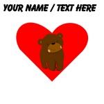Custom Baby Bear Heart