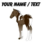 Custom Brown Spotted Horse