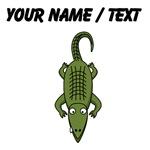 Custom Cartoon Crocodile