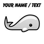 Custom Baby Whale