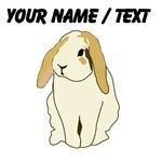 Custom Brown Eared Bunny