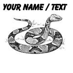 Custom Copperhead Snake