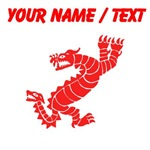 Custom Red Peruvian Dragon